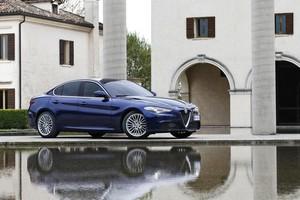 Foto Delantera Alfa Romeo Giulia-prueba Sedan 2016