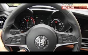 Foto Detalles 1 Alfa Romeo Giulia-prueba Sedan 2016