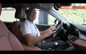Foto Interiores Alfa Romeo Giulia-prueba Sedan 2016