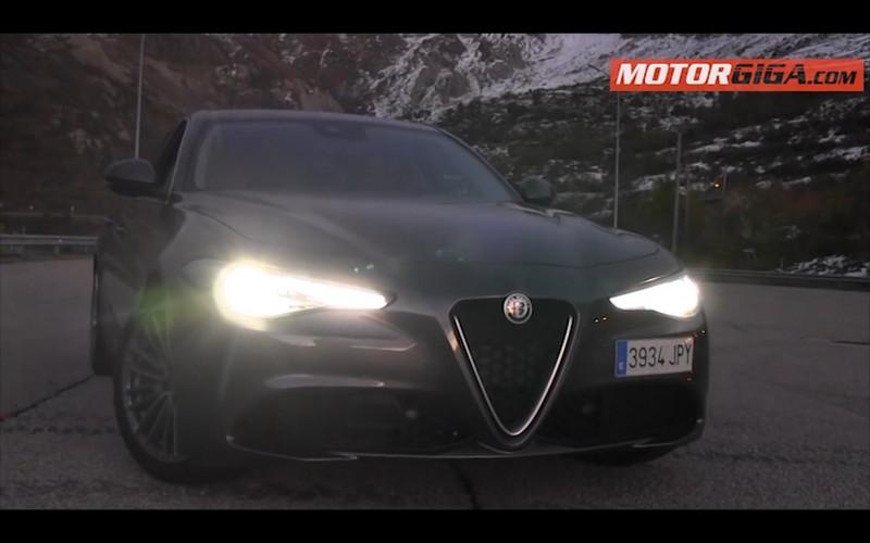 Foto Exteriores Alfa Romeo Giulia Prueba Sedan 2016