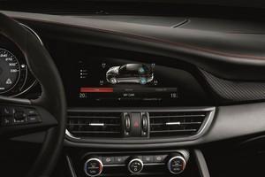 Foto Interiores Alfa Romeo Giulia-quadrifoglio Sedan 2016