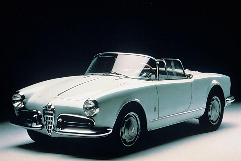 Alfa Romeo Giulietta descapotable primera generación