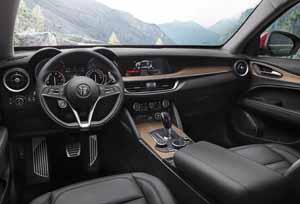 Foto Salpicadero Alfa Romeo Stelvio Suv Todocamino 2017
