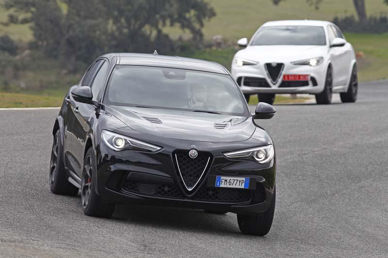 Alfa Romeo Stelvio Quadrifoglio, foto delantera
