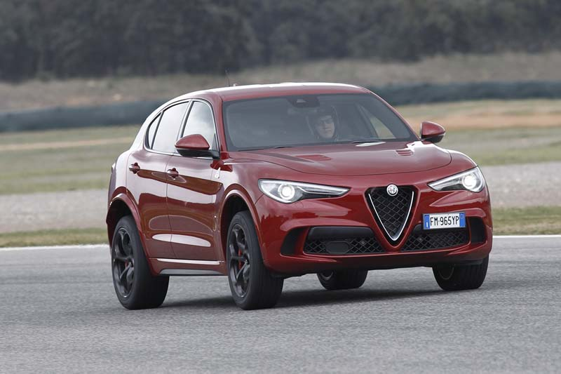 Foto Exteriores (3) Alfa Romeo Stelvio-quadrifoglio Suv Todocamino 2017