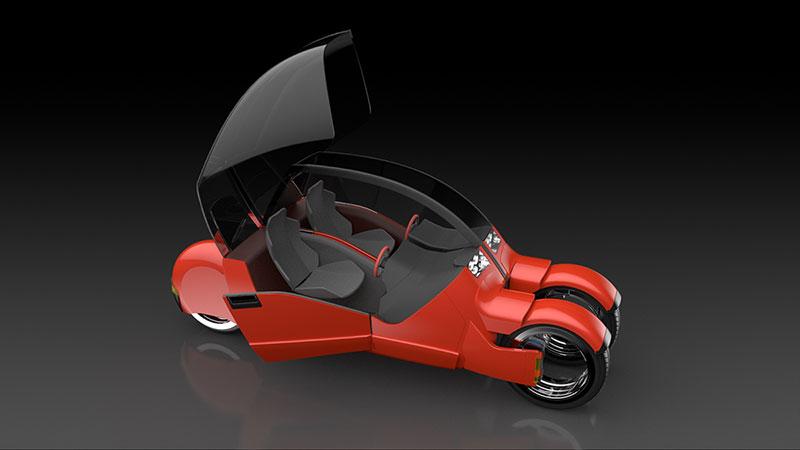 Foto Argodesign Lanesplitter Argodesign Lanesplitter Concept 2015