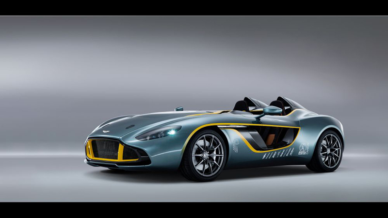 Foto Exteriores Aston Martin Cc100 Cupe 2013