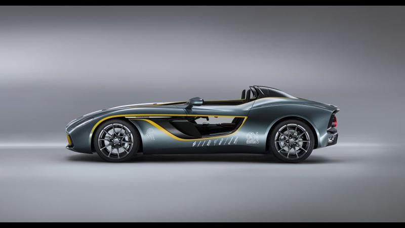 Foto Lateral Aston Martin Cc100 Cupe 2013