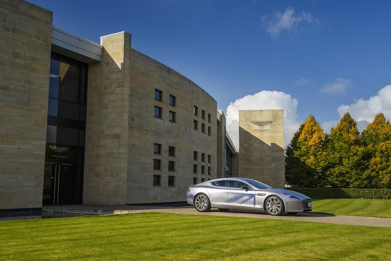 Foto Exteriores Aston Martin Rapide Concept Concept 2016
