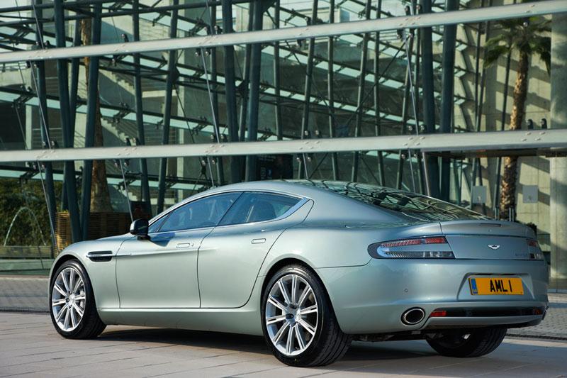 Foto Trasera Aston Martin Rapide Berlina 2010