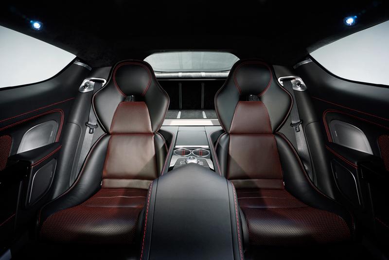 Foto Interiores Aston Martin Rapide-s Berlina 2013
