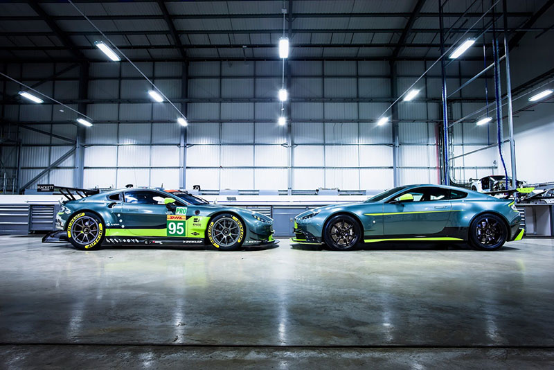 Foto Exteriores Aston Martin V8 Vantage Gt8 Cupe 2016