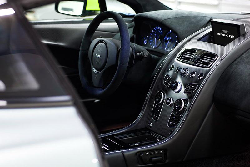 Interior Aston Martin V8 Vantage GT8