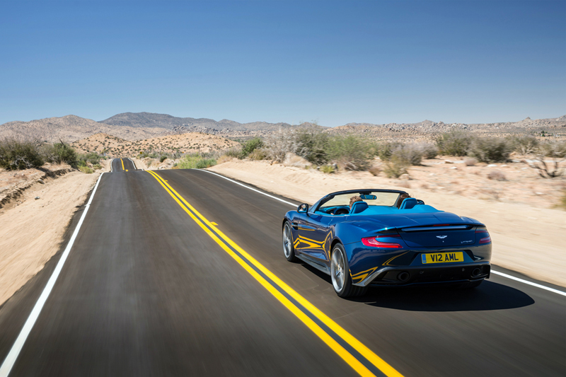 Foto Exteriores Aston Martin Vanquish Volante Descapotable 2013