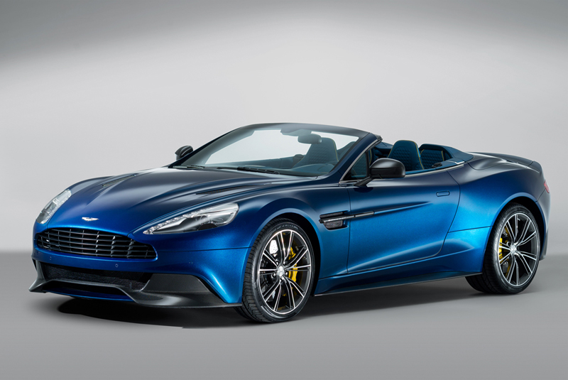 Foto Perfil Aston Martin Vanquish Volante Descapotable 2013
