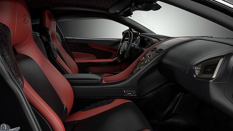 Interior Aston Martin Vanquish Zagato concept