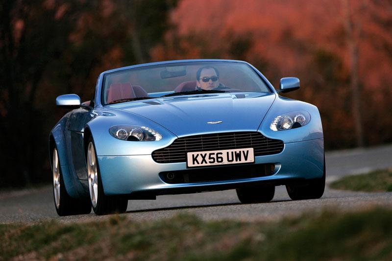 Foto Delantera Aston Martin Vantage Descapotable 2009