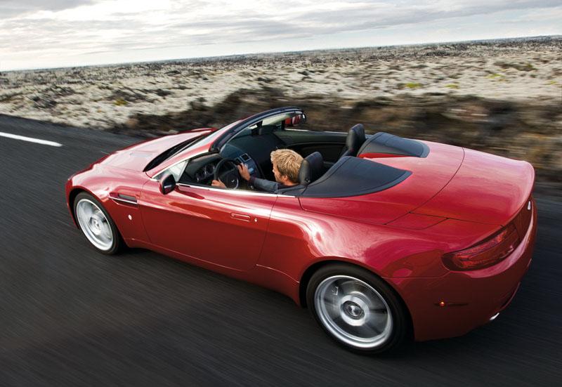 Foto Exteriores Aston Martin Vantage Descapotable 2009