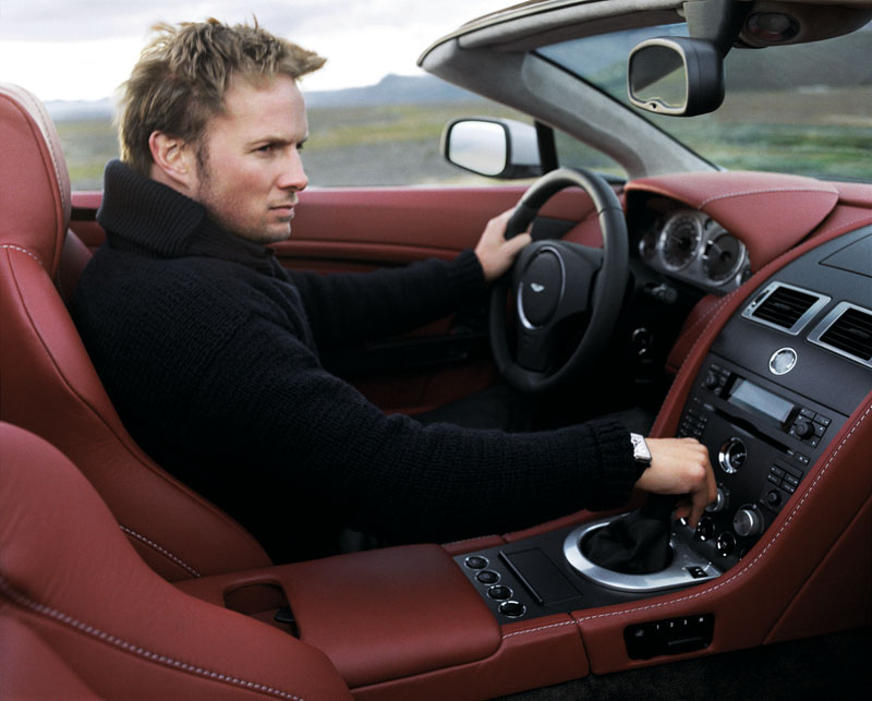 Foto Interiores Aston Martin Vantage Descapotable 2009