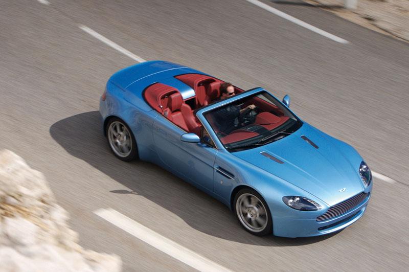 Foto Lateral Aston Martin Vantage Descapotable 2009