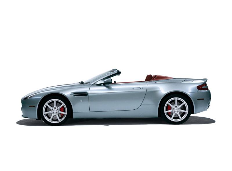 Foto Perfil Aston Martin Vantage Descapotable 2009