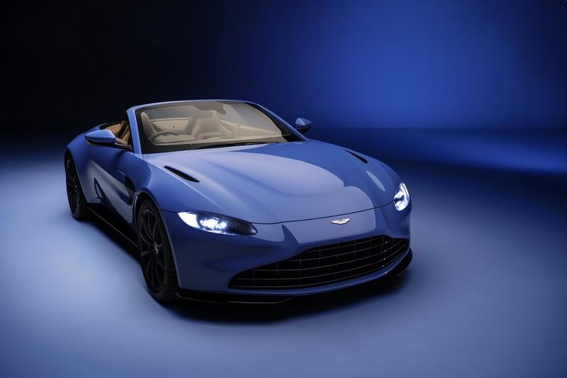 Foto Delantera Aston Martin Vantage Roadster Descapotable 2020