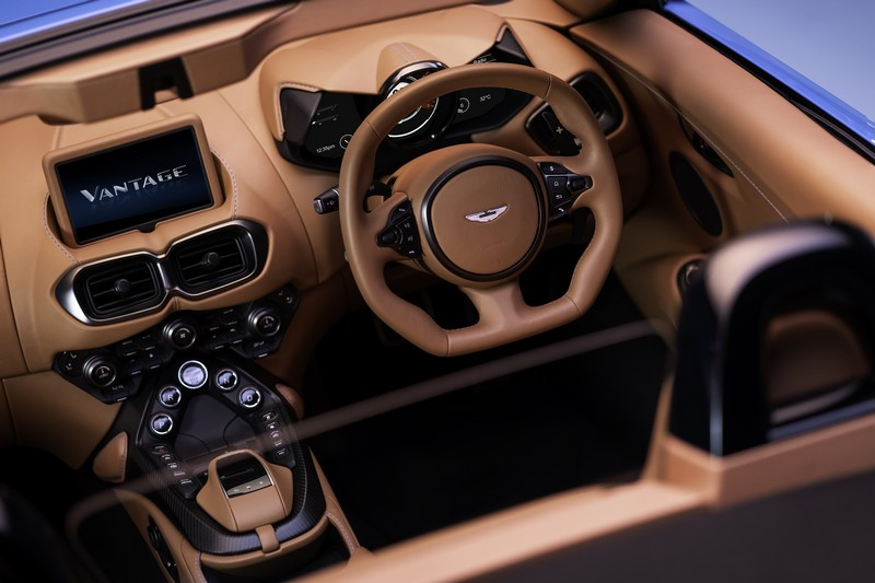 Foto Interiores 1 Aston Martin Vantage-roadster Descapotable 2020