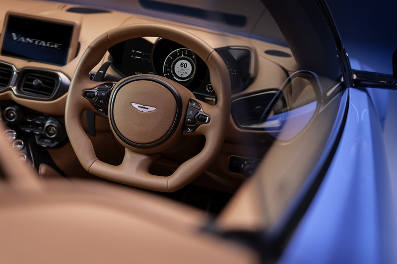 Foto Interiores Aston Martin Vantage-roadster Descapotable 2020