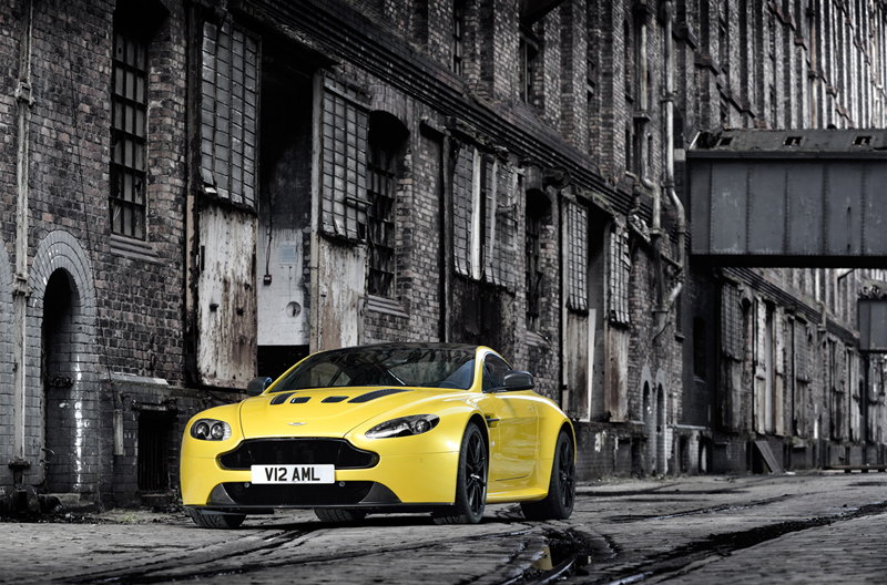 Foto Exteriores Aston Martin Vantage S Cupe 2013