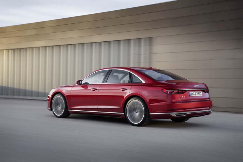 Foto Exteriores (11) Audi A8 Sedan 2017