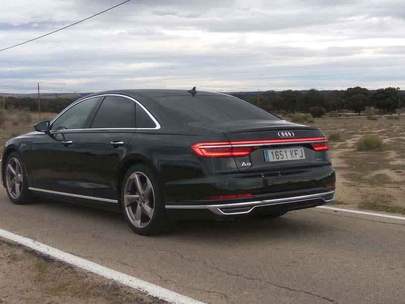 Foto Exteriores Audi A8 Sedan 2017