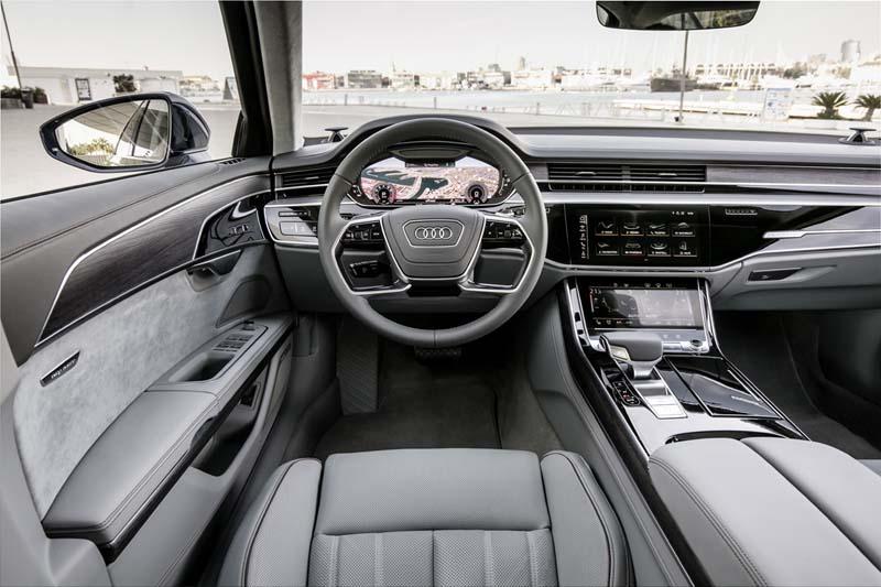 Foto Interiores (4) Audi A8 Sedan 2017