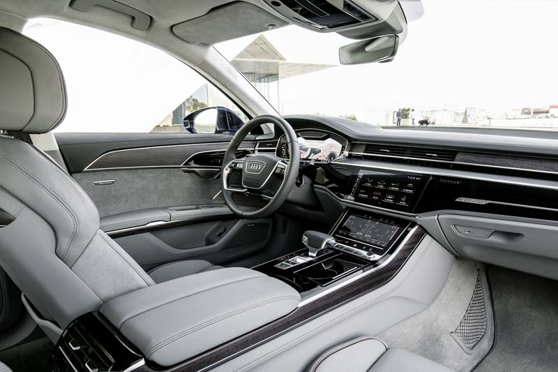 Foto Interiores Audi A8 Sedan 2017
