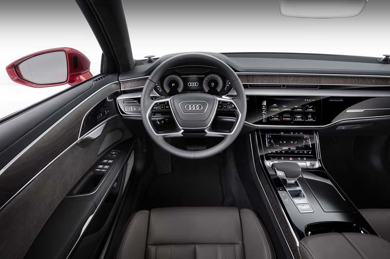 Audi A8 50 TDI, foto salpicadero