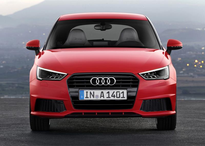 Foto Delantera Audi A1 Dos Volumenes 2015