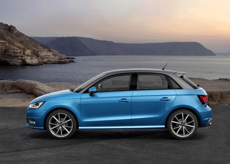 Foto Lateral Audi A1 Dos Volumenes 2015