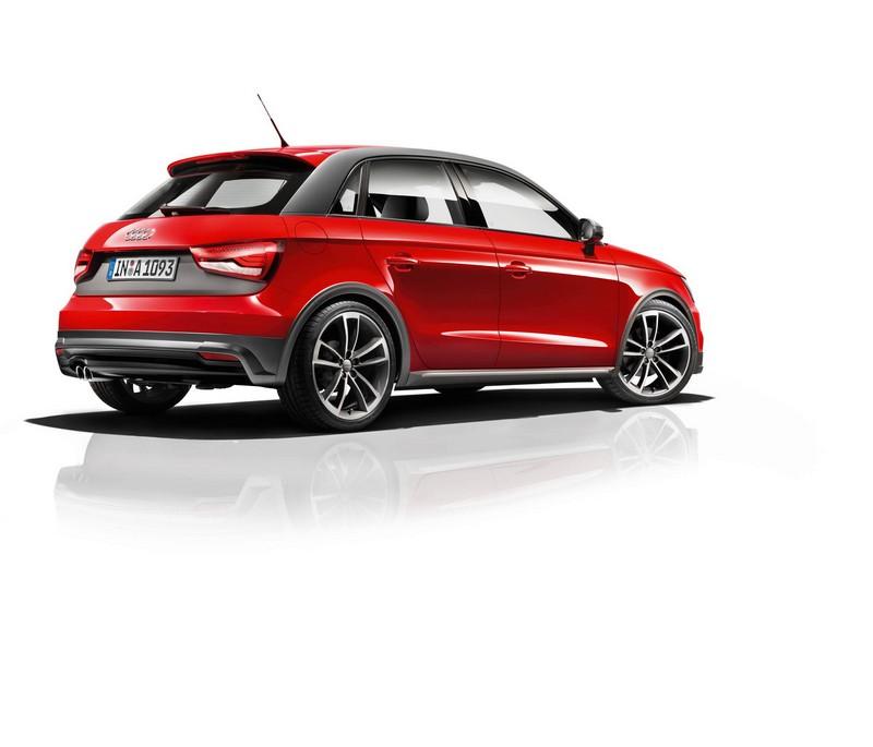 Foto Trasera Audi A1 Active Kit Dos Volumenes 2016