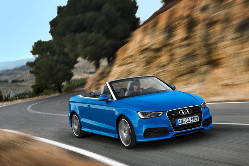 Foto Perfil Audi A3 Descapotable 2013