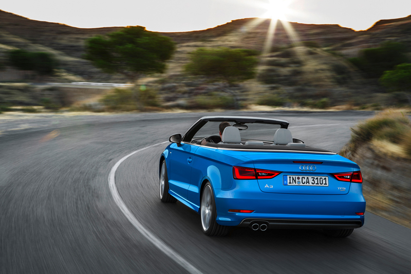 Foto Trasera Audi A3 Descapotable 2013