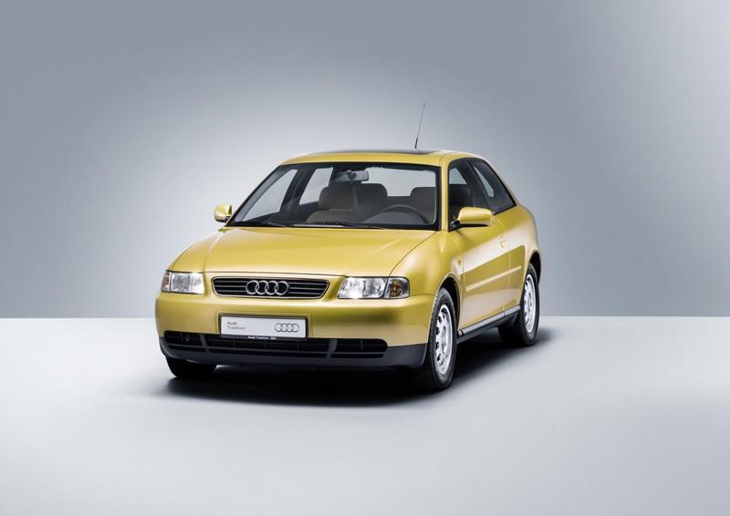 Foto Delantera Audi A3 Dos Volumenes 1996
