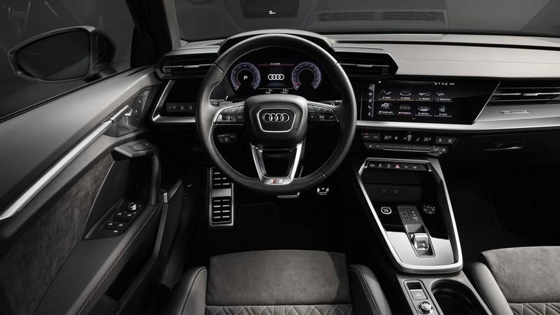 Foto Interiores Audi A3 Sedan 2020
