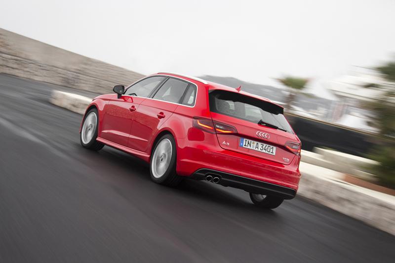 Foto Exteriores Audi A3 Sportback Dos Volumenes 2012