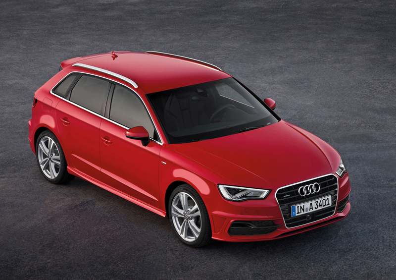 Foto Perfil Audi A3 Sportback Dos Volumenes 2012