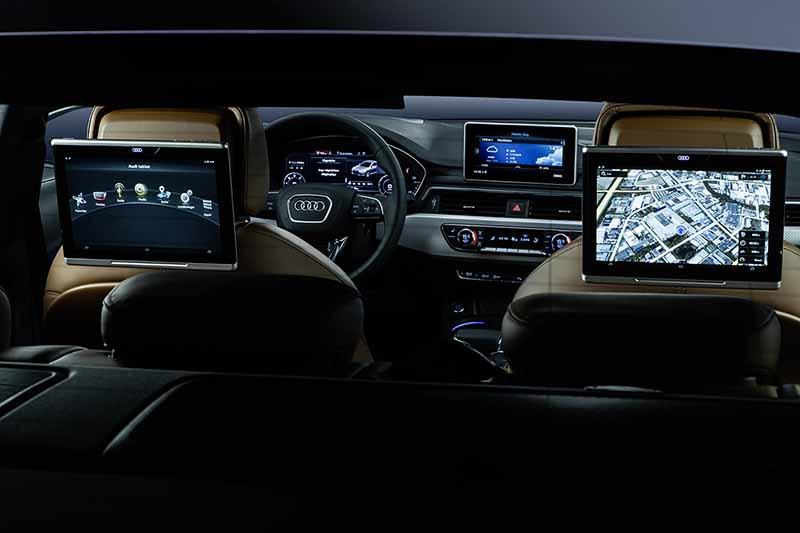 Audi A4 2016 asientos posteriores