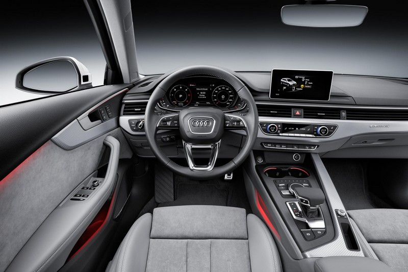 Audi A4 Allroad Quattro salpicadero