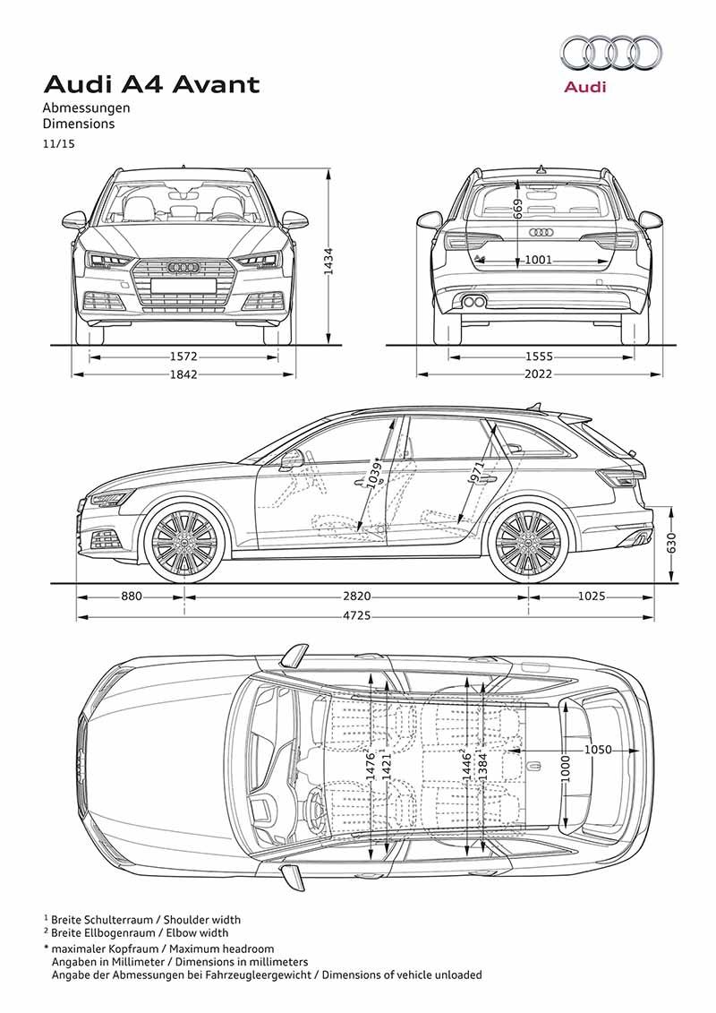 Foto Tecnicas (18) Audi A4-avant Familiar 2016