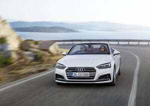 Foto Delantera Audi A5 Descapotable 2017