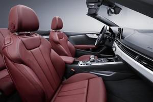 Foto Interiores Audi A5 Descapotable 2017