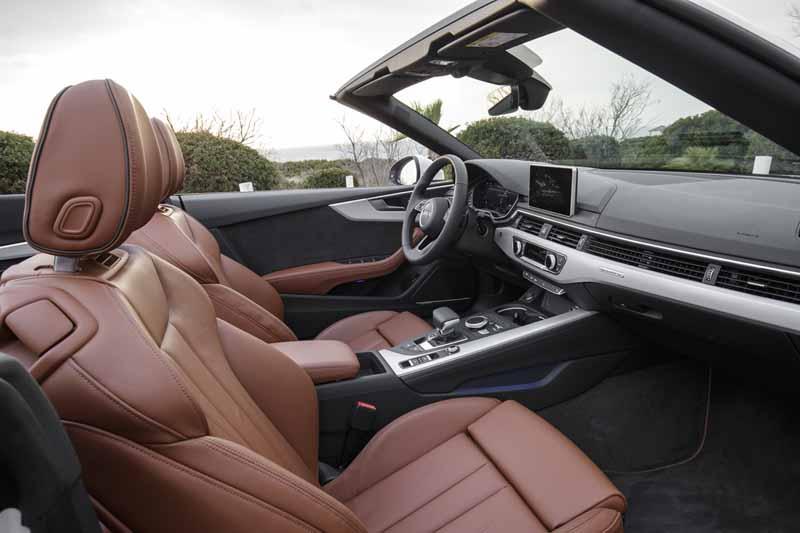 Audi A5 Cabrio 2017, foto interior