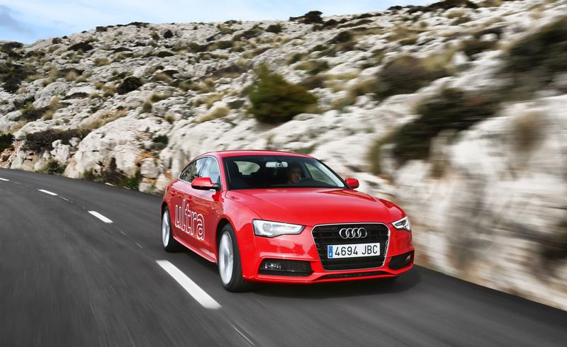 Foto Exteriores Audi A5 Sportback Ultra Dos Volumenes 2015